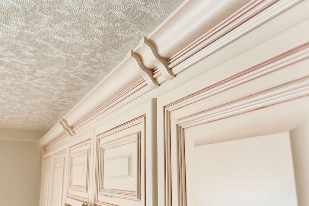 モールディング部分も装飾性の高い仕上がり