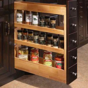 BASE ORGANIZER PULL OUT SPICE DRAWER