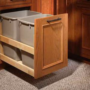 PULL OUT GARBAGE BIN HOLDER